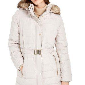 Michael Kors   Faux-Fur Hooded Down Puffer Jacket